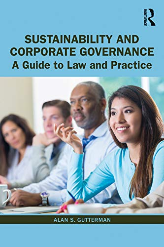 Sustainability and Corporate Governance: A Guide to Law and Practice (English Edition)