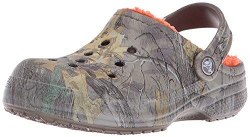 Crocs Crocs - Winter Realtree Xtra Clog (Kleinkind / Kleinkind), EUR: 27-29, Chocolate/Orange