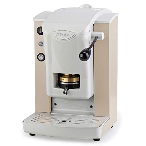 FABER SLOT PLAST MACCHINA CAFFE ESPRESSO CIALDE -100% MADE IN ITALY- 6 COLORI (AVORIO)+ 15 CIALDE EMOZIONI QUOTIDIANE
