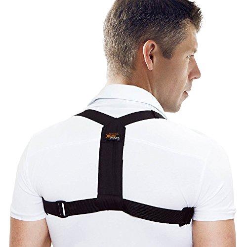 blackroll-orange POSTURE Haltungstrainer für korrekte Körperhaltung, Rückentrainer, Geradehalter,