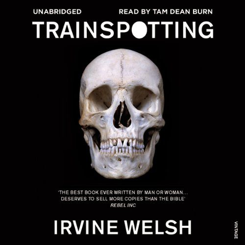 Trainspotting audiobook cover art