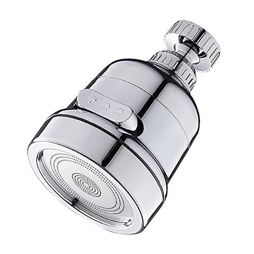 XIAOQI Cabezal de grifo de cocina giratorio 360 ° para grifo de cocina y baño