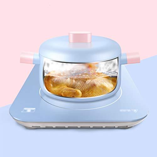 LYUN Antiadherente Cacerola de Aluminio de aleación Salsa Cacerola con Tapa sellada de la Gravedad de la Cocina casera Cocina, el diseño de la manija sin Fisuras