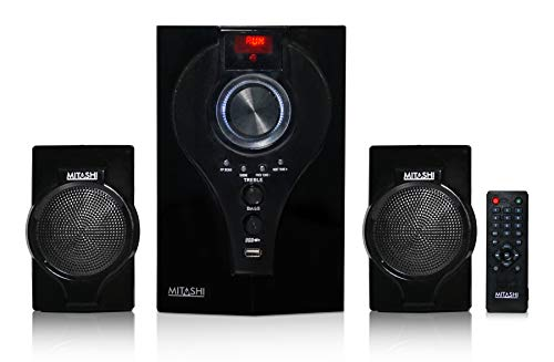 Mitashi HT 2430 Fur 2.1 Channel Home Theatre System (Black)