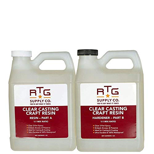 RTG Clear Casting Craft Resin (2-Quart Kit)