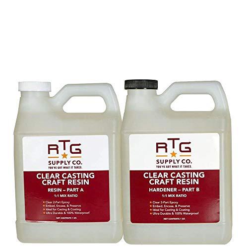 RTG Supply Co. Clear Casting Craft Resin (2-Quart Kit)