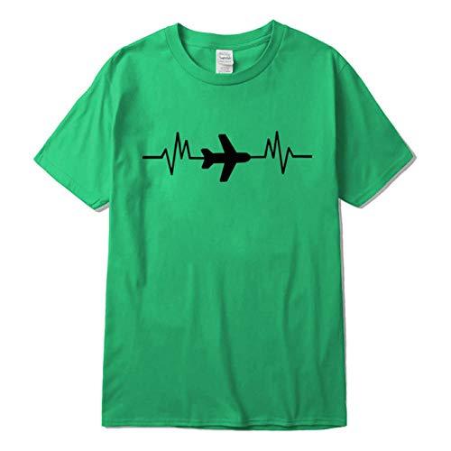 T-Shirt Baumwolle lässig Kurzarm Sommer Atmungsaktiv locker Lustige männliche Streetwear Freund Geschenk-XXL