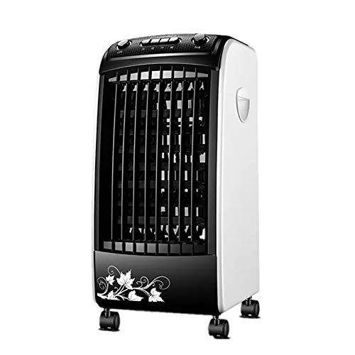 Climatizador Evaporativo 3 En 1, Enfriador De Aire, Calefactor, Purificador, Ventilador, 65W, Tanque 5L, Mando A Distancia, Portátil para Hogar Y Oficina