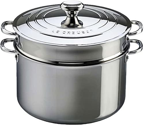 Espagueteira 26 cm 3-PLY, Aço Inox, Le Creuset