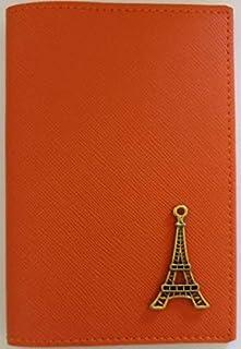 Dark Orange Polyurethane For Unisex - Passport Wallet