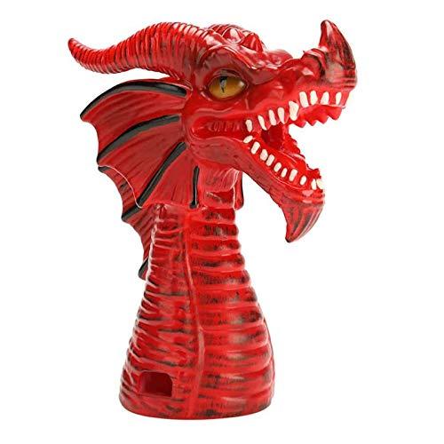 Outil de dérivation de vapeur accessoire de dégagement de vapeur Dragon cracheur de feu, pour autocuiseur accessoires de cuisine maison cuisine décoration cadeaux (rouge)