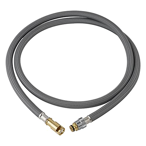 RP44647 Pullout Kitchen Faucet Hose for Delta Faucet, Pull Out Spray Hose Kit to Delta Waterfall Pull-out Kitchen Faucets 470/472/474/476, Sink Hose Replacement Part RP32527 for Delta Signature Faucet