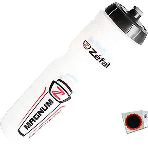 ZEFAL Trinkflasche Magnum transparent 1000ml + SCHLAUCHFLICKEN