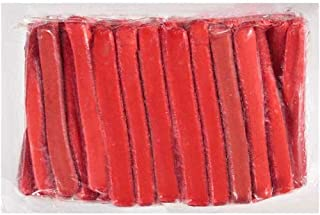 10:1 Bryan Pork Water Beef Red Hot Dog, 6.5 inch -- 100 per case.