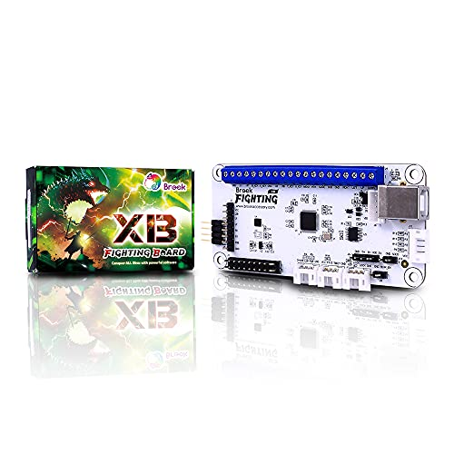 Brook XB Fighting Board Compatible with Xbox Series X/S Xbox One Xbox 360 Xbox Original Support Software Config Settings and Button Lock Preinstalled Header Version