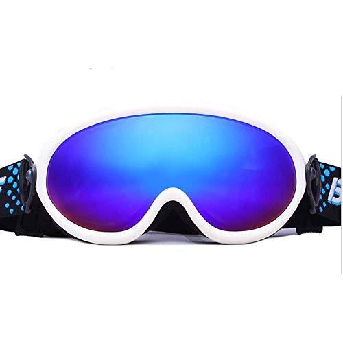 Yi-xir diseño Clasico Benice Children Ski Goggles ThreeFold Antifogging Ski Goggles Moda (Color : 3, Size : 180 * 100mm)