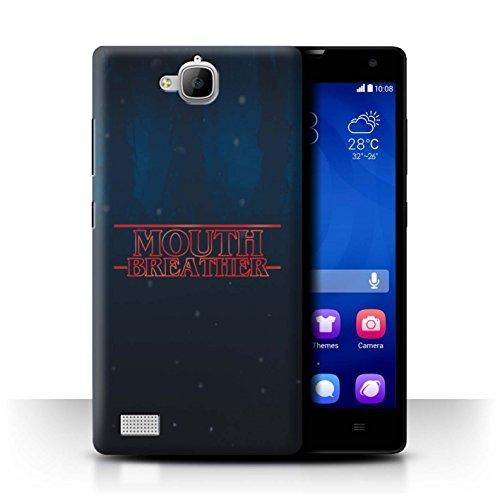 Hülle Für Huawei Honor 3C Seltsam Retro M&entlüftung Design Transparent Ultra Dünn Klar Hart Schutz Handyhülle Hülle