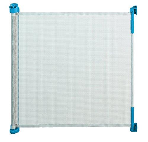Gaterol Active Lite Blau – Ausziehbares Treppenschutzgitter und Türschutzgitter Rollo bis 140 cm