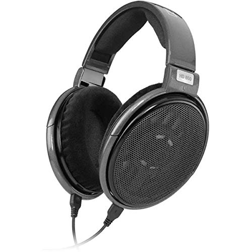 Sennheiser HD 650 Open Back Professional Headphone (Renewed)