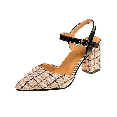 Donyyyy Baotou sandalias verano sandalias femeninas afilados
