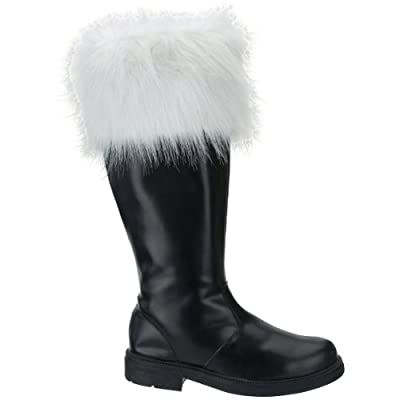 Professional Santa Boots X-Large (14) Costume Accessory from Halco