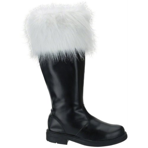 Professional Santa Boots Large (12-13) Costume Accessory