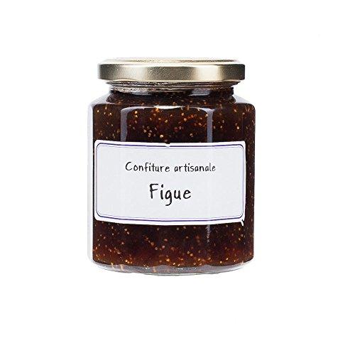 Handwerklich hergestellte Feigen Konfitüre mit 65% Fruchtanteil, L'Epicurien, Confiture artisanale Figue Noire, L'Epicurien, La Méridienne, 320g