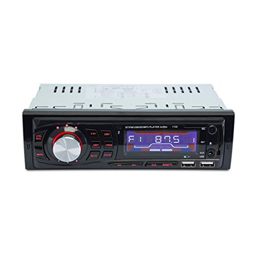 USB Stick 1132 DIN Car Audio DE Audio FM Radio estéreo Bluetooth Reproductor de MP3, compatibilidad con Tarjeta USB/SD/AUX, con Control Remoto, Zhongxianshangmaoyouxiangongsi
