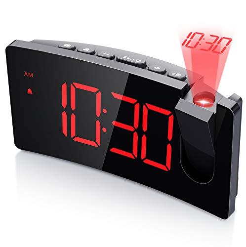 Mpow Alarm Clock, LED Digital Alarm Clock with USB Charging Port,...