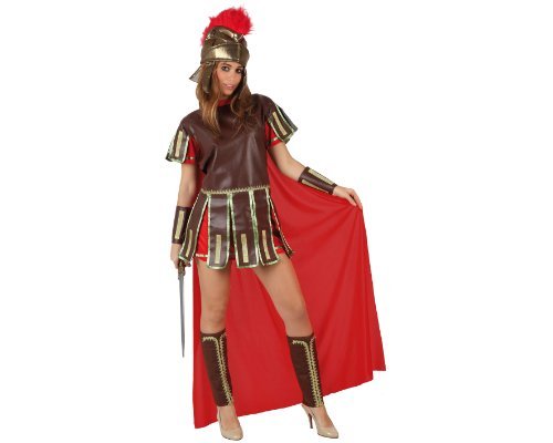 Atosa-96781 Disfraz gladiadora romana, M-L (96781)