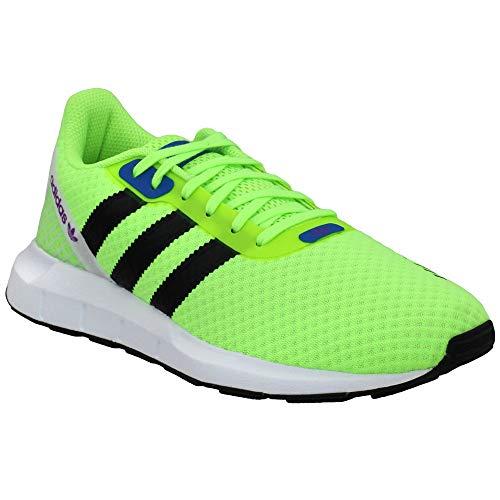 adidas Originals Women's Swift Run RF W Crib Shoe, Signal Green/Black/Glory Blue, 6.5 M US