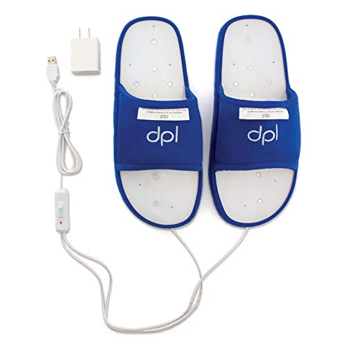Lowest Prices! REVIVE LIGHT THERAPY DPL Slipper - Arthritis and Foot Pain Light Therapy (Large)