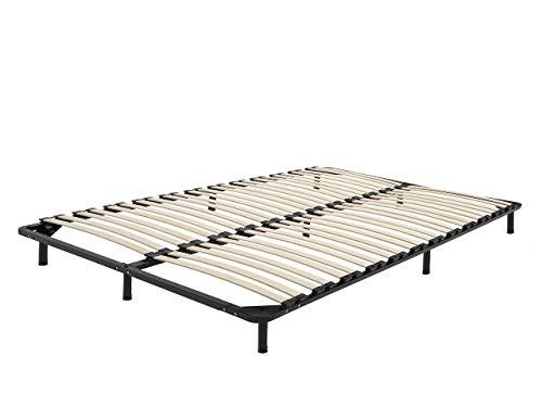 Beliani Freistehender Lattenrost für alle Betten 140x200 cm