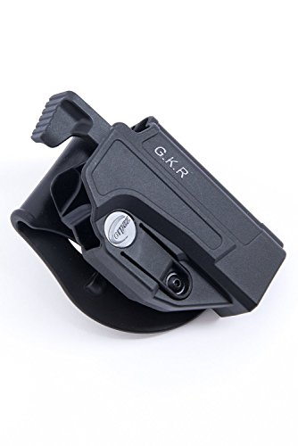 Orpaz 1911 Thumb Release Holster Polymer Rotation Paddle/Belt w/ Tension Adjustment use by IDF
