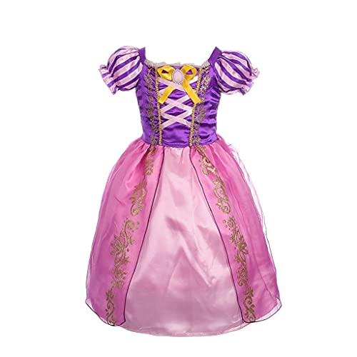 Lito Angels Niñas Disfraces de Princesa Rapunzel Vestidos de Princesa para niña Vestido de Fiesta Elegante Talla 13-14 años