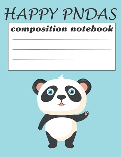 panda daily planner: notebook and journal