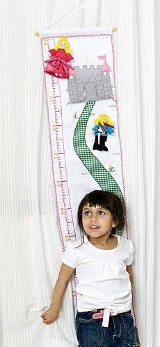disfrutando de sus compras Oskar & Ellen Ellen Ellen Fabric Princess Height Chart by Oskar & Ellen  orden ahora disfrutar de gran descuento