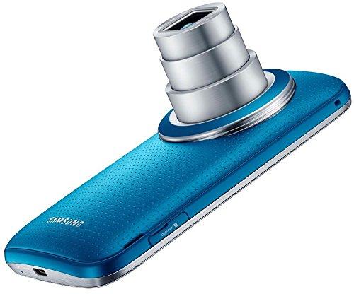 Samsung Galaxy K zoom C115 Smartphone (12,2 cm / 4,8 Zoll HD Super-AMOLED-Display, 8 GB interner Speicher, 20,7 Megapixel Kamera, 10-fach optischer Zoom, Android 4.4) Electric-blue