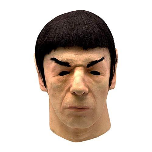 Star Trek 1975 Spock Adult Latex Costume Mask