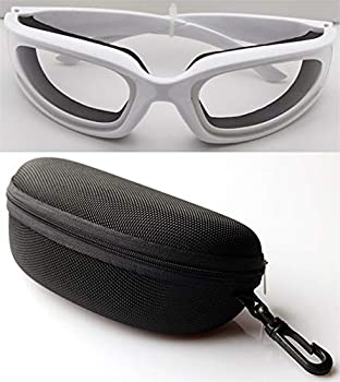 Unisex Tear Proof Cut Onion Goggles Saftey Glasses for Kitchen Cooking BBQ Cleaning Cycling  Chopping Eye Protect Tool  With Sealing Sponge  Anti-tear Dustproof Anti-fog Windproof  OG1B