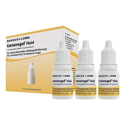 CORNEREGEL Fluid Augentropfe 3X10 ml Augentropfen
