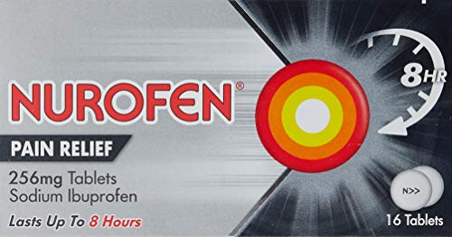 Nurofen Pain Relief Tablets - fast acting ibuprofen alternative to paracetamol