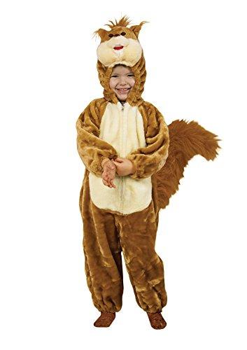 Fiori Paolo Schotse ruiten, pluche kostuum baby Medium (3-4 anni) Bruin/Beige