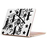 Surface Laptop Go 専用 スキンシール サーフェス ラップトップ ゴー ステッカー カバー ケース フィルム アクセサリー 保護 013869 七夕 短冊 星