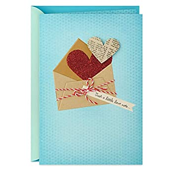 Hallmark Everyday Love Card Romantic Birthday Card or Anniversary Card  Love Note
