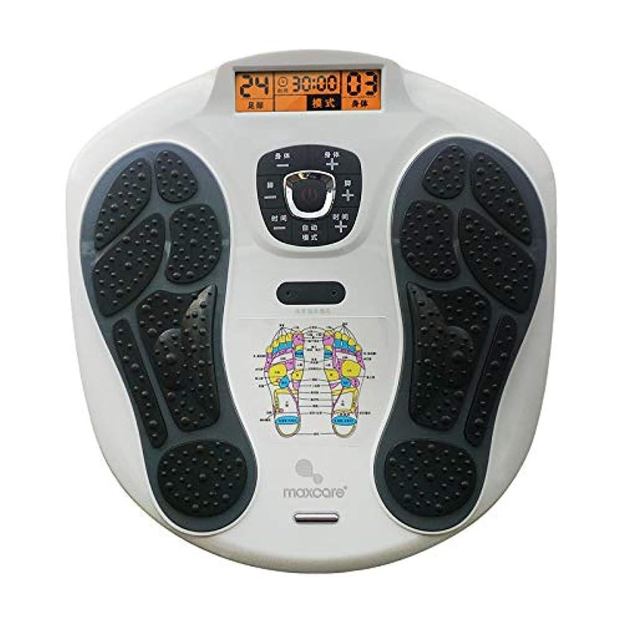 ファンブル害島リモコン フルフットマッサージ体験のための、熱付きフットマッサージャー、LEDディスプレイスクリーンリラックス疲れて痛む足 インテリジェント
