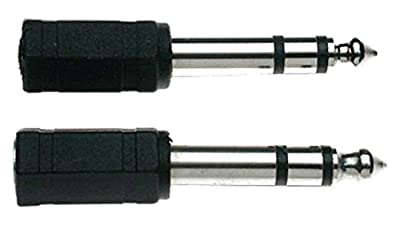 Stagg 16093 Female to Male Stereo Jack Audio Adaptor (Pack of 2)