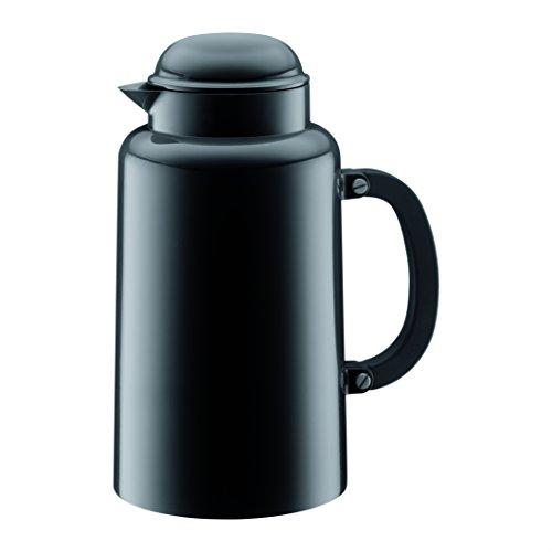 Bodum CHAMBORD Thermoskanne (Doppelwandig, Vakuumisolierung, 1,0 liters) schwarz