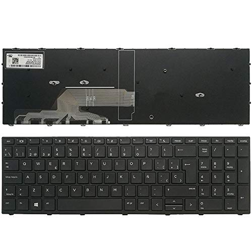 New Laptop Replacement Keyboard Fit HP ProBook 450 G5 455 G5 470 G5 9Z.NEFSQ.00S NSK-XK0SQ Spanish Layout