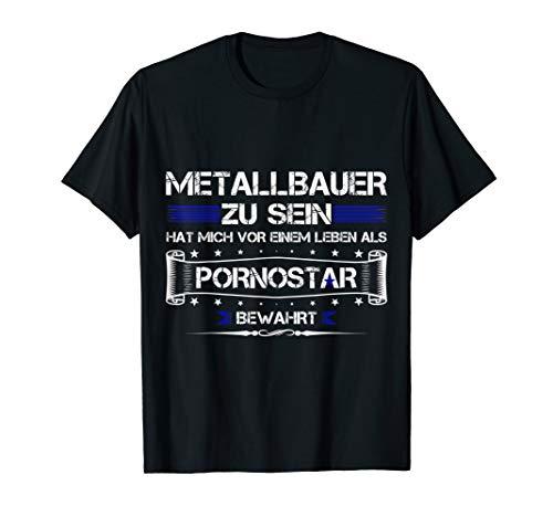 Herren ARBEIT JOB BERUF LUSTIGER SPRUCH METALLBAUER T-Shirt